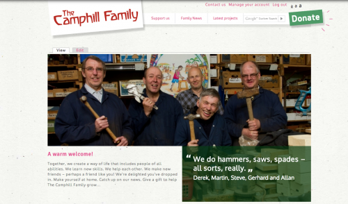 Camphill Family Website