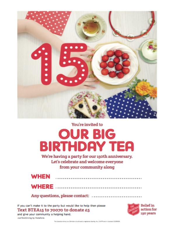 150th Invitation