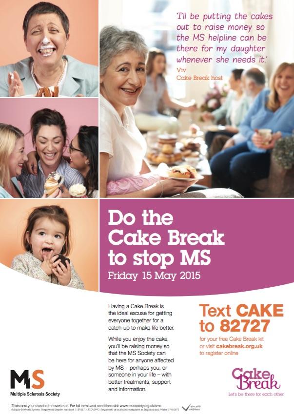 Cake Break promotional poster
